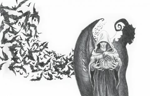 Cover Donkere nacht van de ziel copyright Jessica Raes